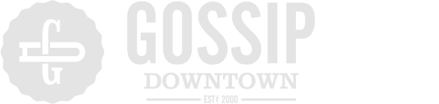 Gossip Downtown Sticky Logo Retina